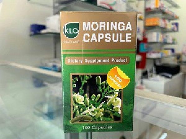 画像1: 【高品質】モリンガ・カプセル(Moringa Capsule)100錠×1ボトル (1)